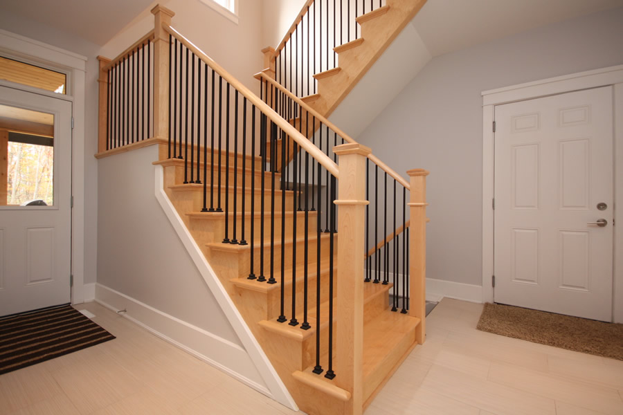 Staircase Ideas And Styles Craftsman Oak Curved New Home