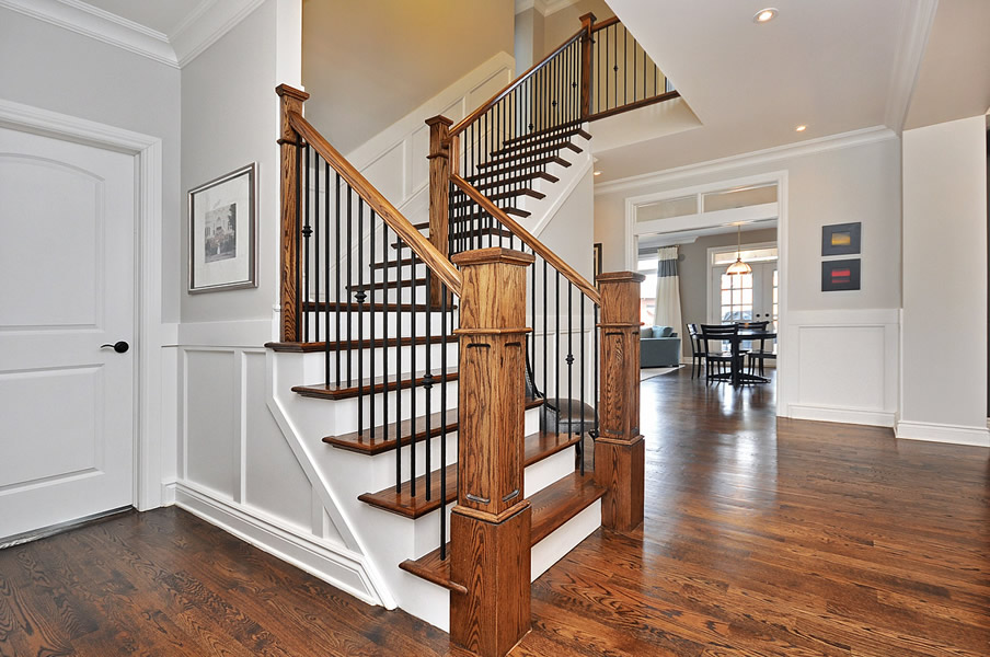 Stair railing ideas pictures to pin on pinterest - Stairway photo gallery ideas ...